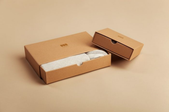 Two cardboard box packages
